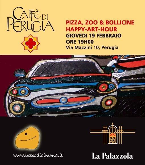Vernissage al Caffè di Perugia