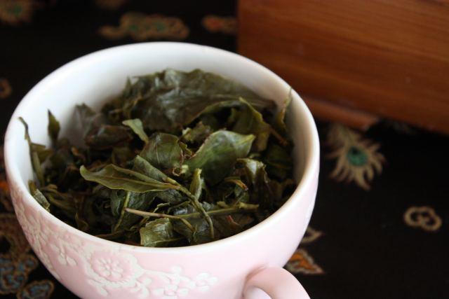 Le foglie del tè