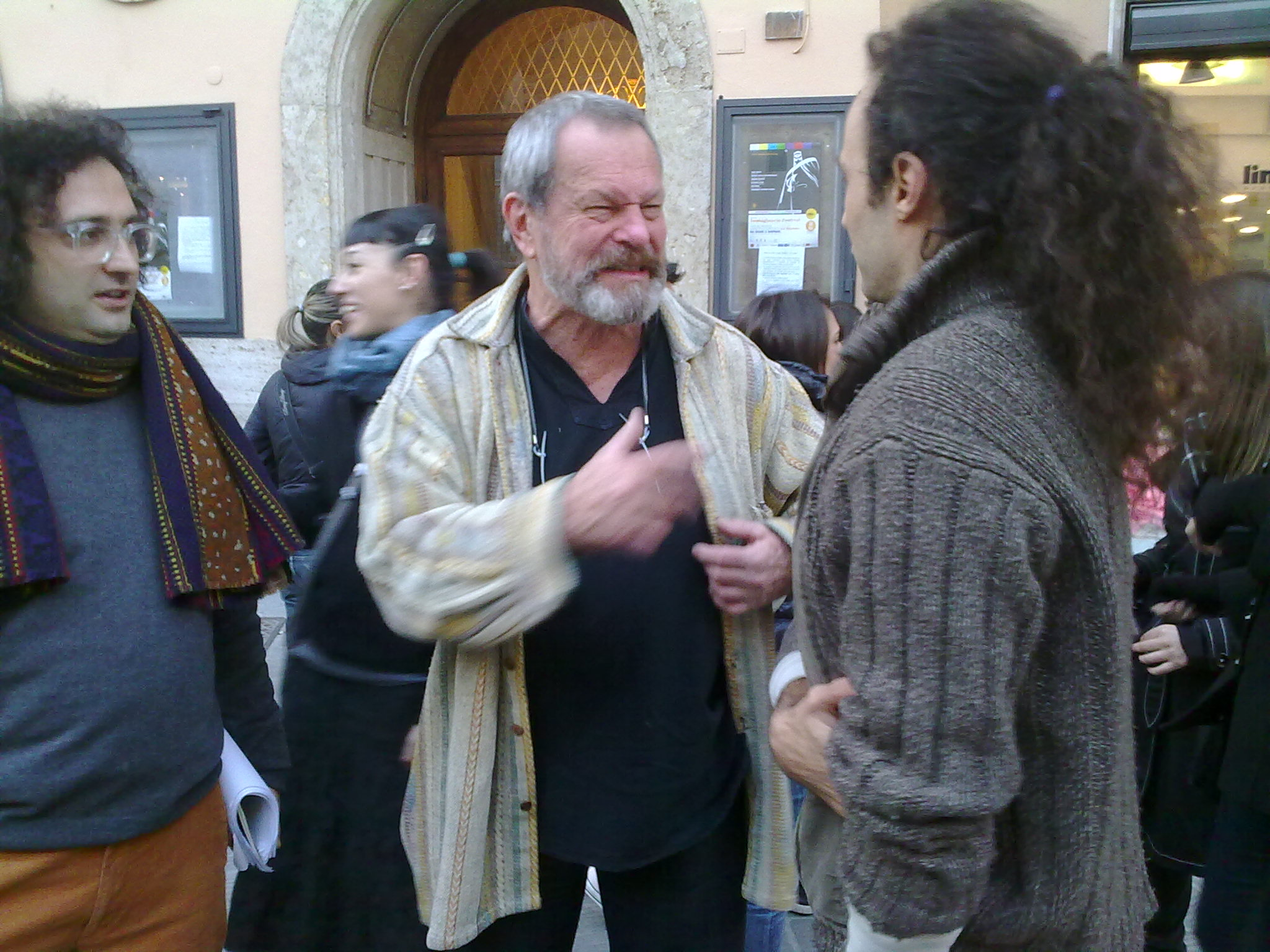 Terry Gilliam a Perugia