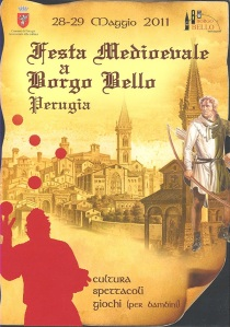 Festa Medievale Borgo Bello, Perugia