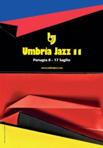 Manifesto Umbria Jazz 2011