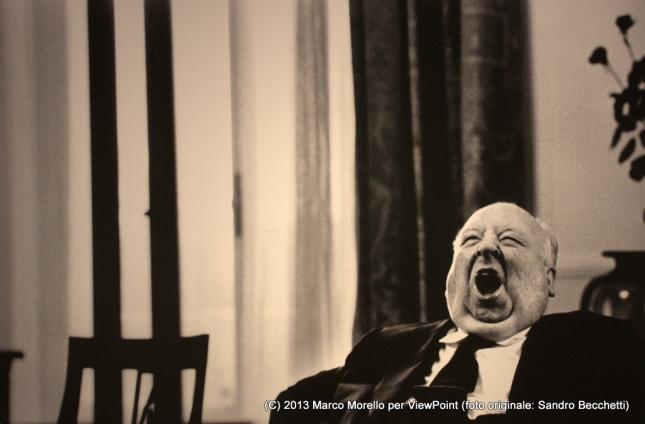 Sandr Becchetti fotografa Alfred Hitchcock
